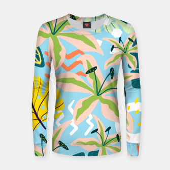 Thumbnail image of Summer state of mind Women sweater, Live Heroes
