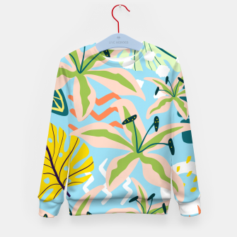 Thumbnail image of Summer state of mind Kid's sweater, Live Heroes