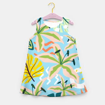 Thumbnail image of Summer state of mind Girl's summer dress, Live Heroes