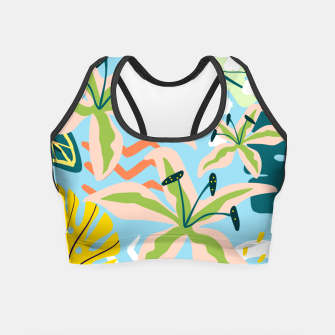 Thumbnail image of Summer state of mind Crop Top, Live Heroes