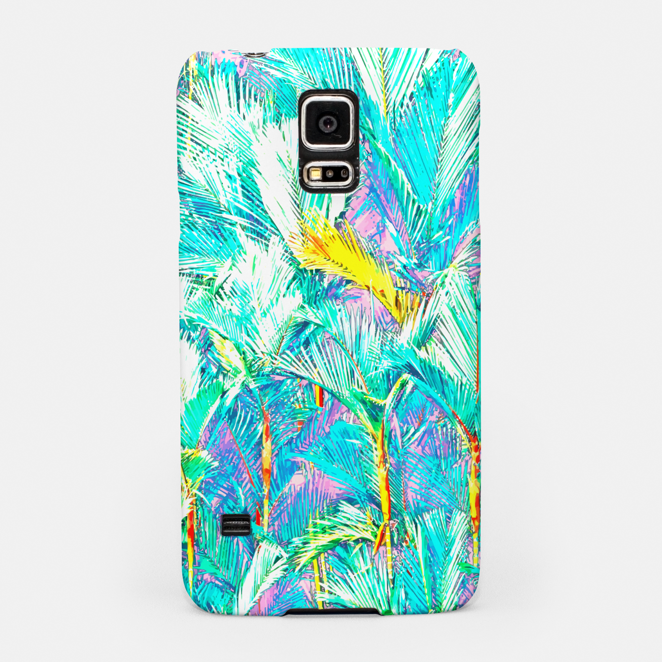 Zdjęcie Palm Garden, Tropical Nature Jungle Painting Samsung Case - Live Heroes