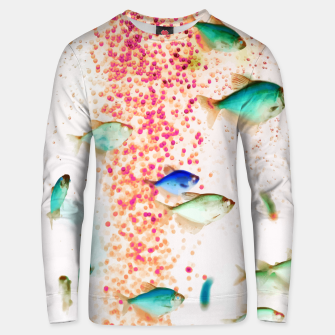 Thumbnail image of Something Fishy Unisex sweater, Live Heroes