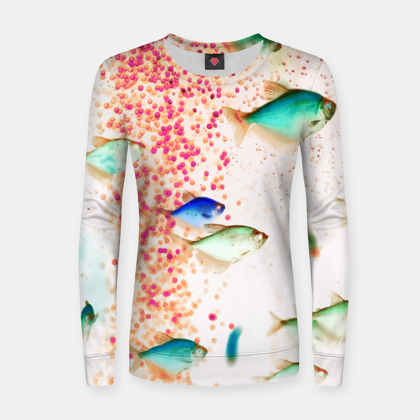 Image of Something Fishy Women sweater - Live Heroes