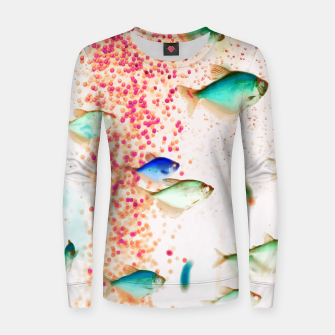 Thumbnail image of Something Fishy Women sweater, Live Heroes