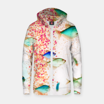 Thumbnail image of Something Fishy Zip up hoodie, Live Heroes