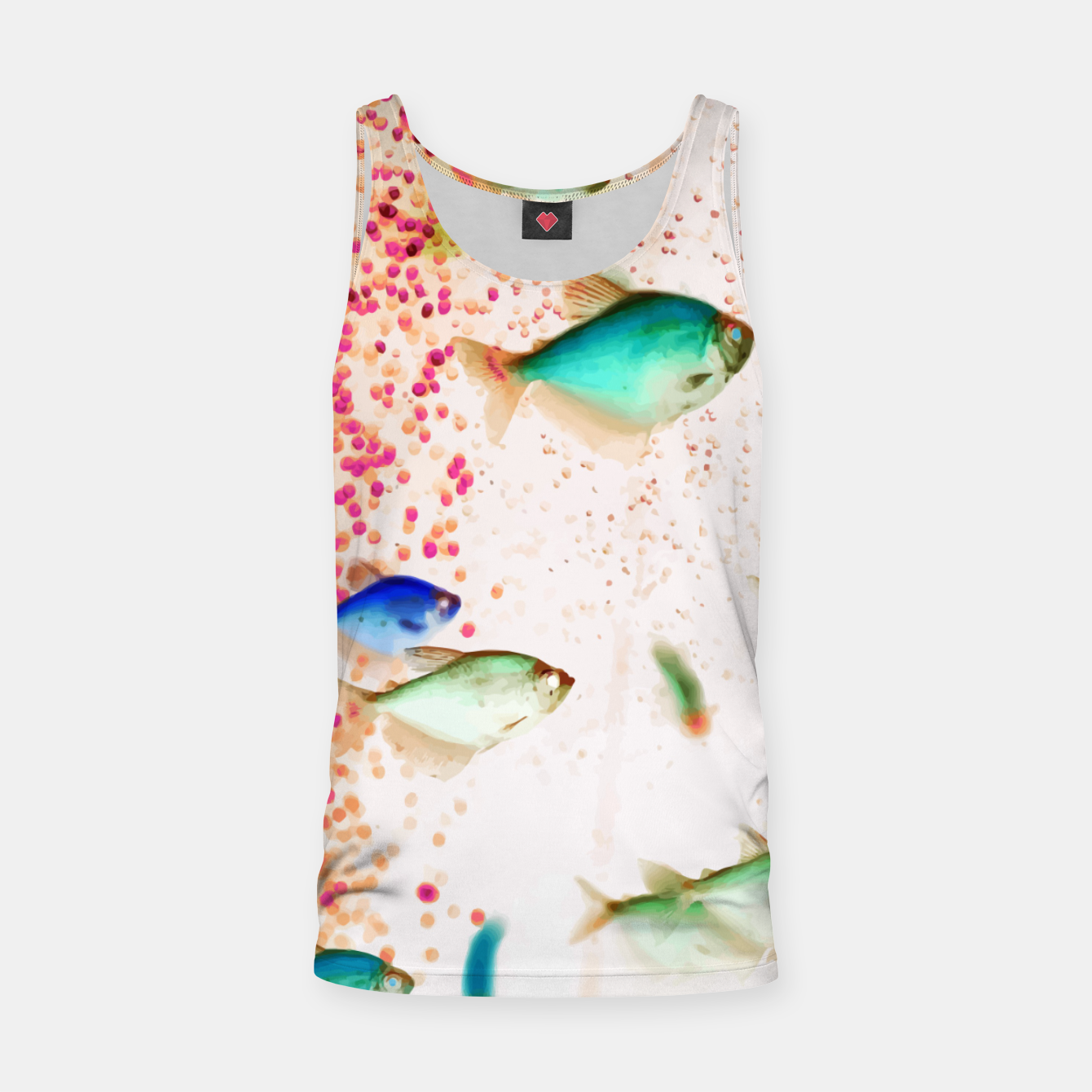 Image of Something Fishy Tank Top - Live Heroes