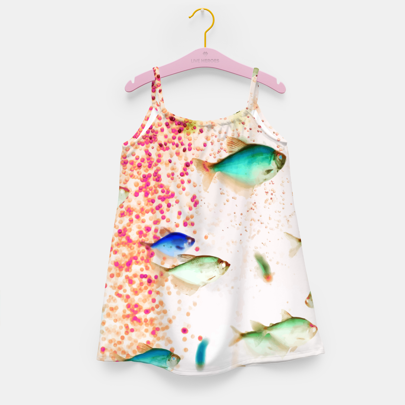 Image of Something Fishy Girl's dress - Live Heroes