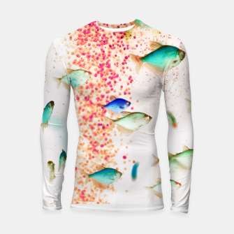 Thumbnail image of Something Fishy Longsleeve rashguard , Live Heroes