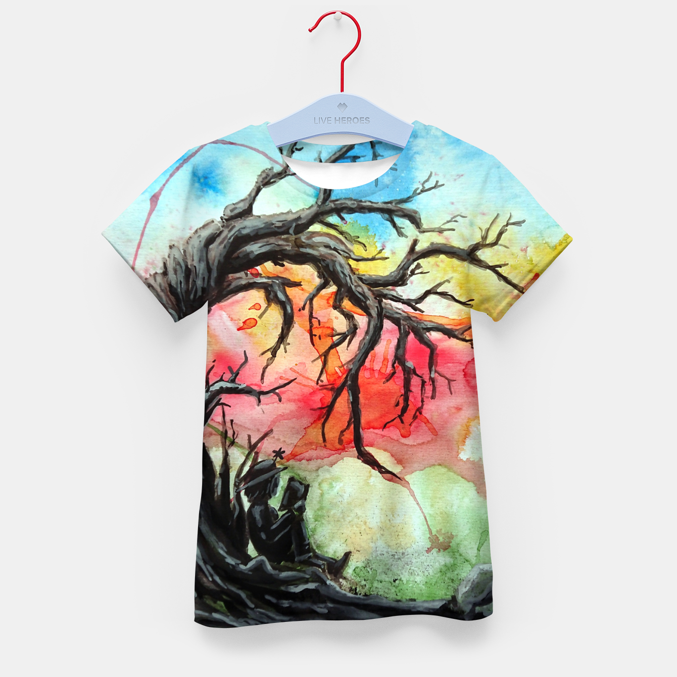 Image of do you mind Kid's t-shirt - Live Heroes