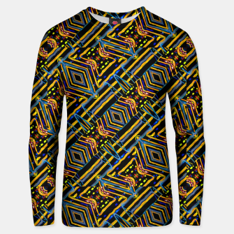 Thumbnail image of Electric Neon Lines Pattern Design Unisex sweater, Live Heroes