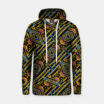 Thumbnail image of Electric Neon Lines Pattern Design Hoodie, Live Heroes