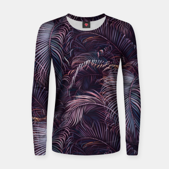 Thumbnail image of Amid the tropical jungle at night Women sweater, Live Heroes