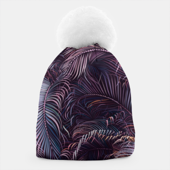 Thumbnail image of Amid the tropical jungle at night Beanie, Live Heroes