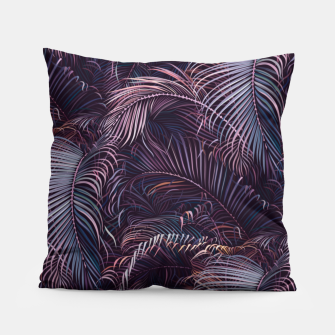 Thumbnail image of Amid the tropical jungle at night Pillow, Live Heroes