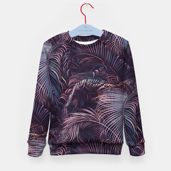 Thumbnail image of Amid the tropical jungle at night Kid's sweater, Live Heroes