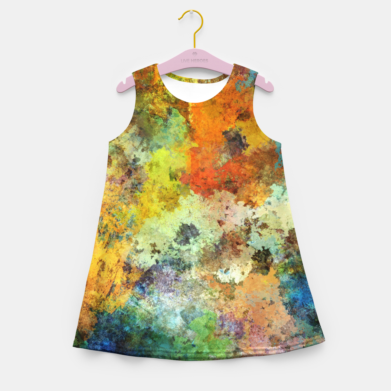 Image of Audible stone Girl's summer dress - Live Heroes