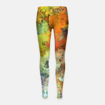 Thumbnail image of Audible stone Girl's leggings, Live Heroes
