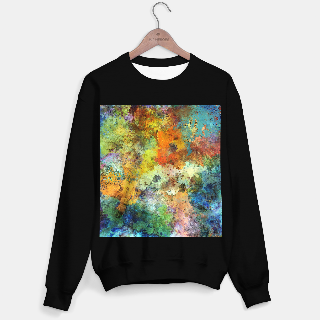 Image of Audible stone Sweater regular - Live Heroes