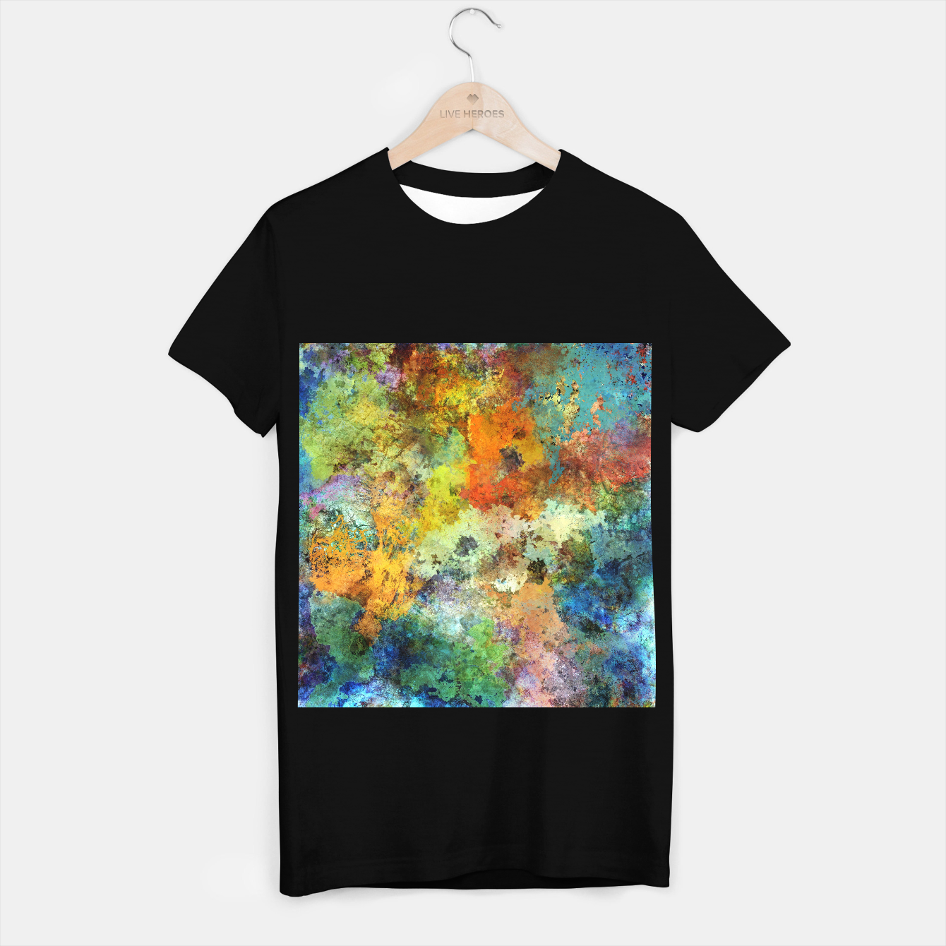 Image of Audible stone T-shirt regular - Live Heroes