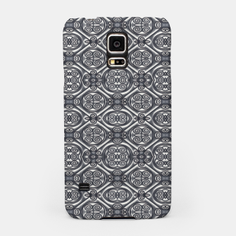 Thumbnail image of Silver Ornate Decorative Seamless Mosaic Samsung Case, Live Heroes