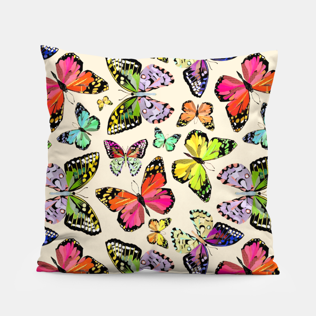 Image of Butterflies Pillow - Live Heroes