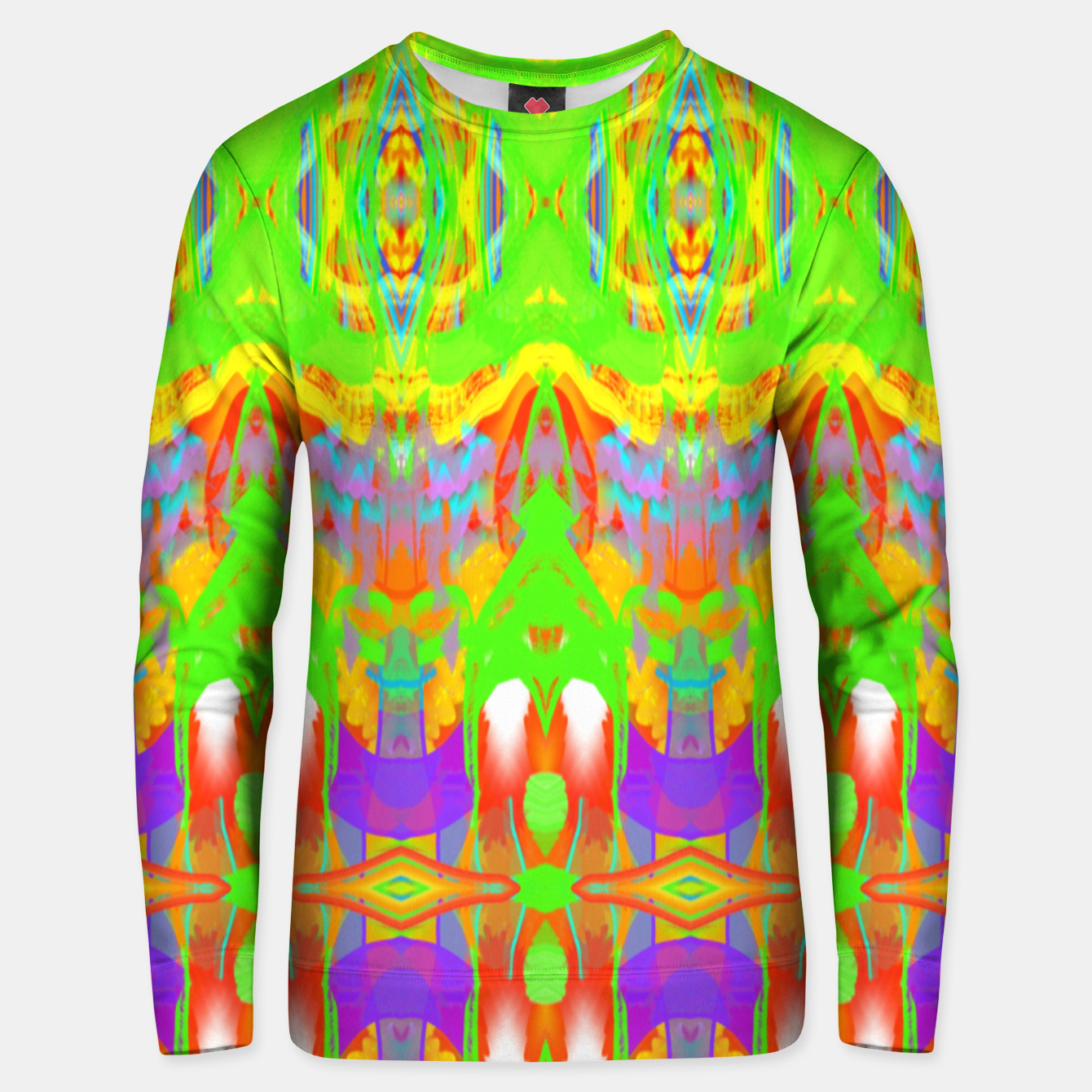 Image of Pattern 1 Unisex sweater - Live Heroes