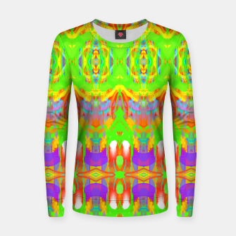 Thumbnail image of Pattern 1 Women sweater, Live Heroes