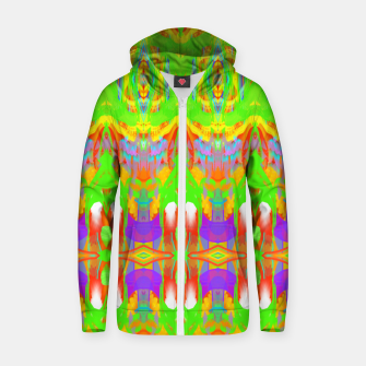 Thumbnail image of Pattern 1 Zip up hoodie, Live Heroes