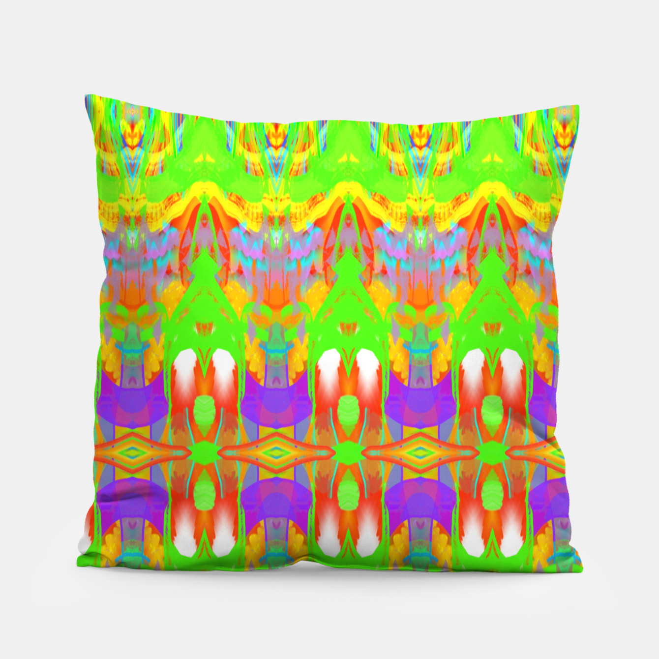 Image of Pattern 1 Pillow - Live Heroes
