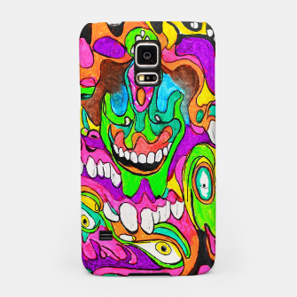 Thumbnail image of Psychedelic Lowbrow Surrealism Samsung Case, Live Heroes
