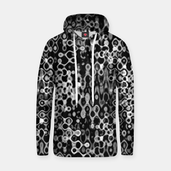Thumbnail image of Black and White Modern Abstract Design Hoodie, Live Heroes