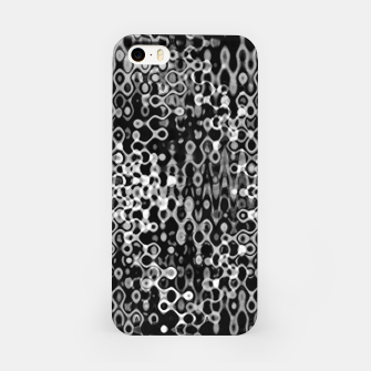 Thumbnail image of Black and White Modern Abstract Design iPhone Case, Live Heroes