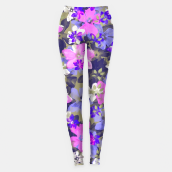Thumbnail image of Floral Spring  Leggings, Live Heroes