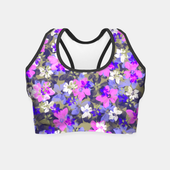 Thumbnail image of Floral Spring  Crop Top, Live Heroes