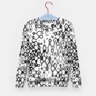 Thumbnail image of White and Black Modern Abstract Design Kid's sweater, Live Heroes