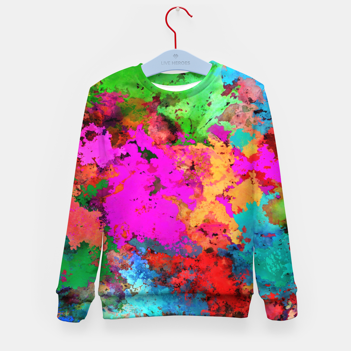 Image of Bam! Kid's sweater - Live Heroes