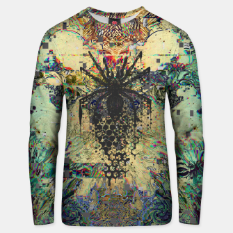 Thumbnail image of Spider Glitch Unisex sweater, Live Heroes