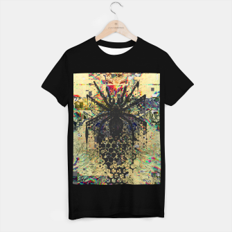 Thumbnail image of Spider Glitch T-shirt regular, Live Heroes