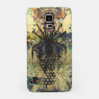 Thumbnail image of Spider Glitch Samsung Case, Live Heroes