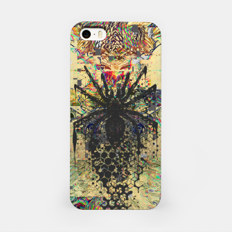 Thumbnail image of Spider Glitch iPhone Case, Live Heroes