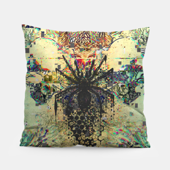 Thumbnail image of Spider Glitch Pillow, Live Heroes