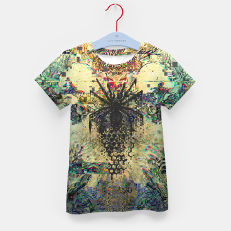 Thumbnail image of Spider Glitch Kid's t-shirt, Live Heroes