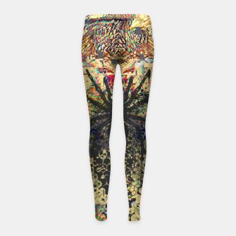 Thumbnail image of Spider Glitch Girl's leggings, Live Heroes