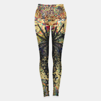 Thumbnail image of Spider Glitch Leggings, Live Heroes