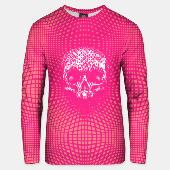 Thumbnail image of Pink Skull Glitch Unisex sweater, Live Heroes