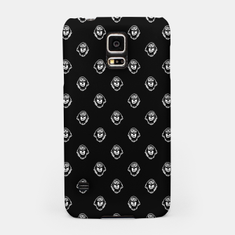 Thumbnail image of Funny Ghost Sketchy Drawing Motif Pattern Samsung Case, Live Heroes