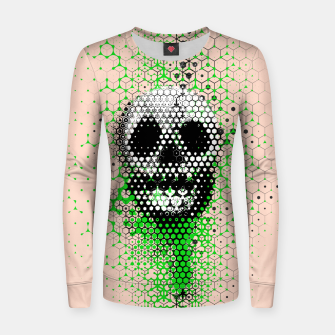 Thumbnail image of Ghost Grid Women sweater, Live Heroes