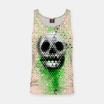 Thumbnail image of Ghost Grid Tank Top, Live Heroes
