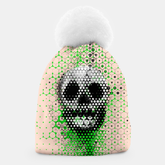 Thumbnail image of Ghost Grid Beanie, Live Heroes