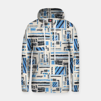 Thumbnail image of Ethnic Geometric Abstract Textured Hoodie, Live Heroes